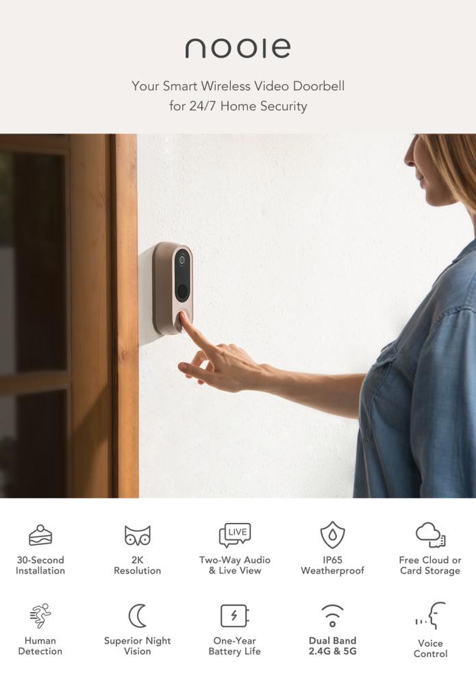 Nooie Smart Video Doorbell