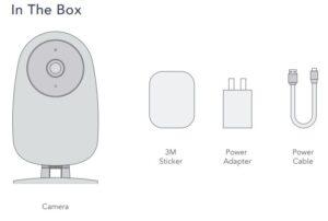 Nooie IPC007 Camera - In the box