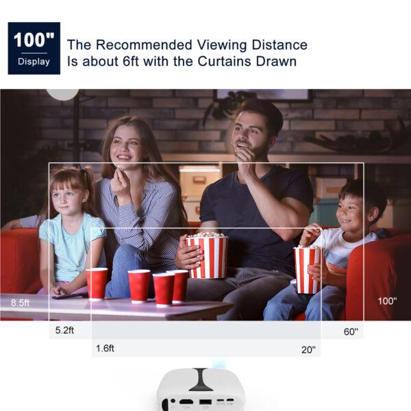 Vankyo Mini Burger Projector - Entertainnment Unlimited