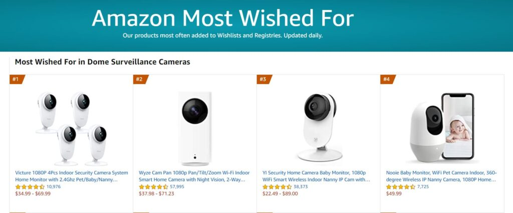 Amazon Most Wise For Nooie Cam360