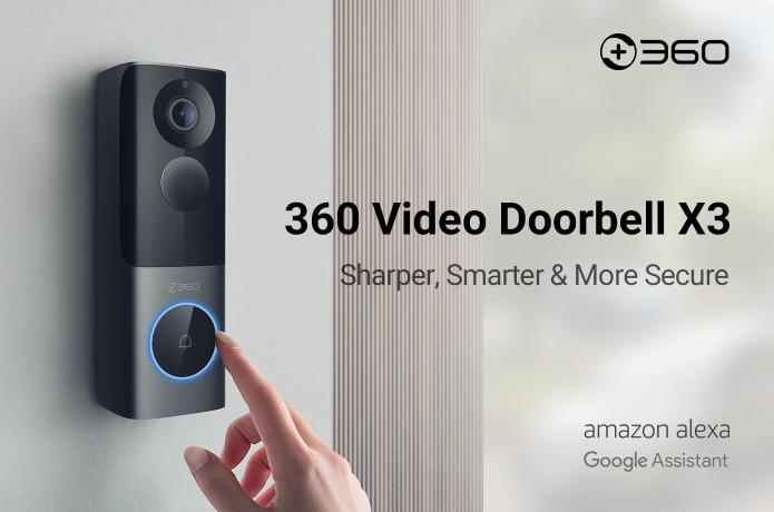 X3 Radar Video Doorbell